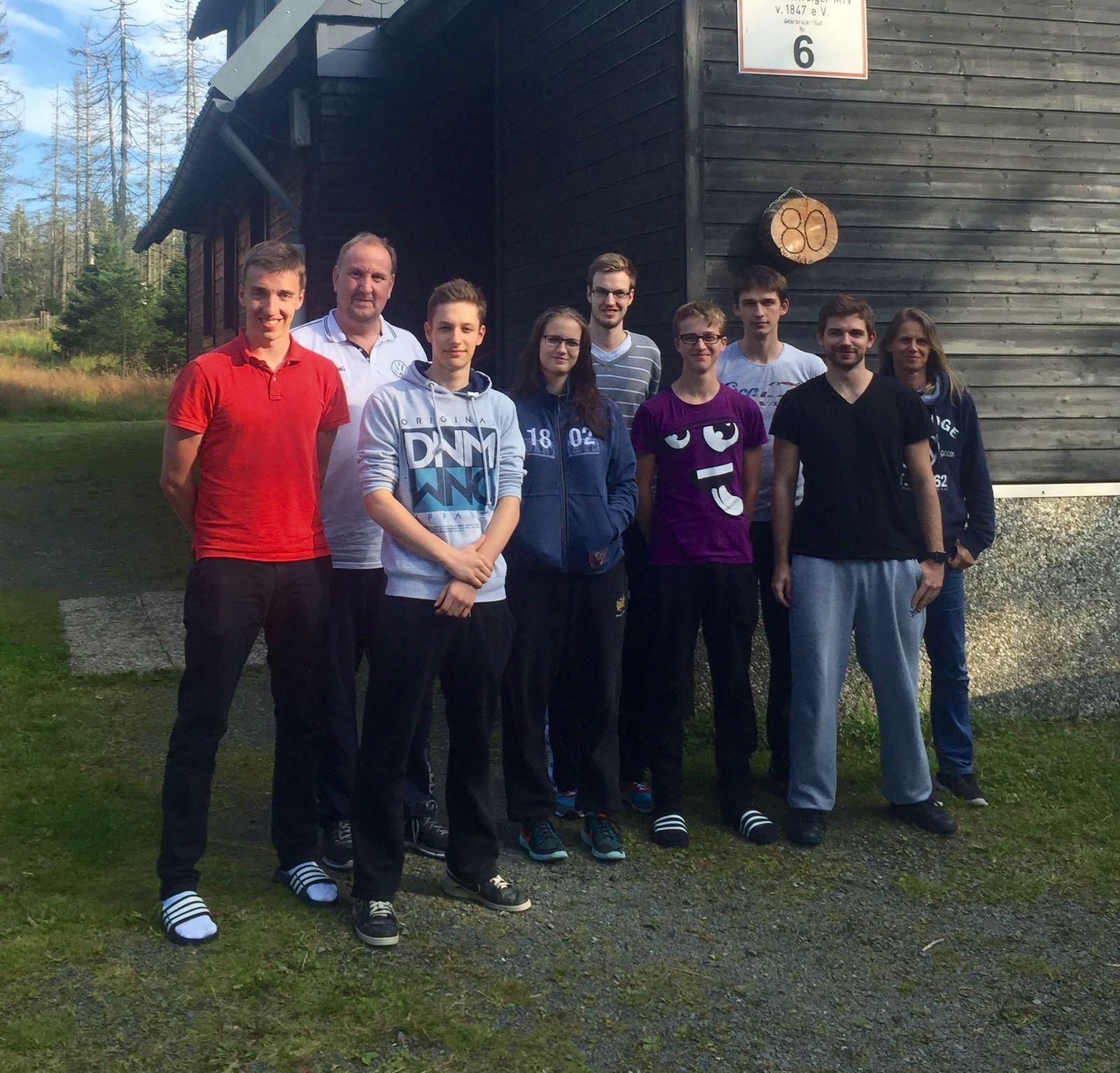 Gruppenfoto Trainerfortbildung