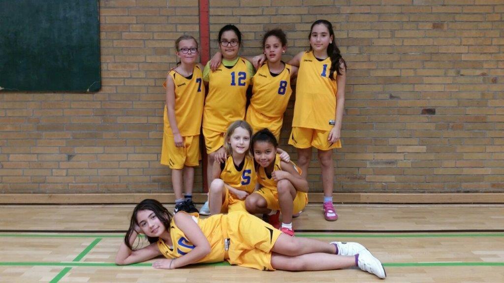 Sportmannschaft Diesterweg Mädchen