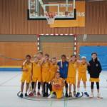 Teamfoto Basketball